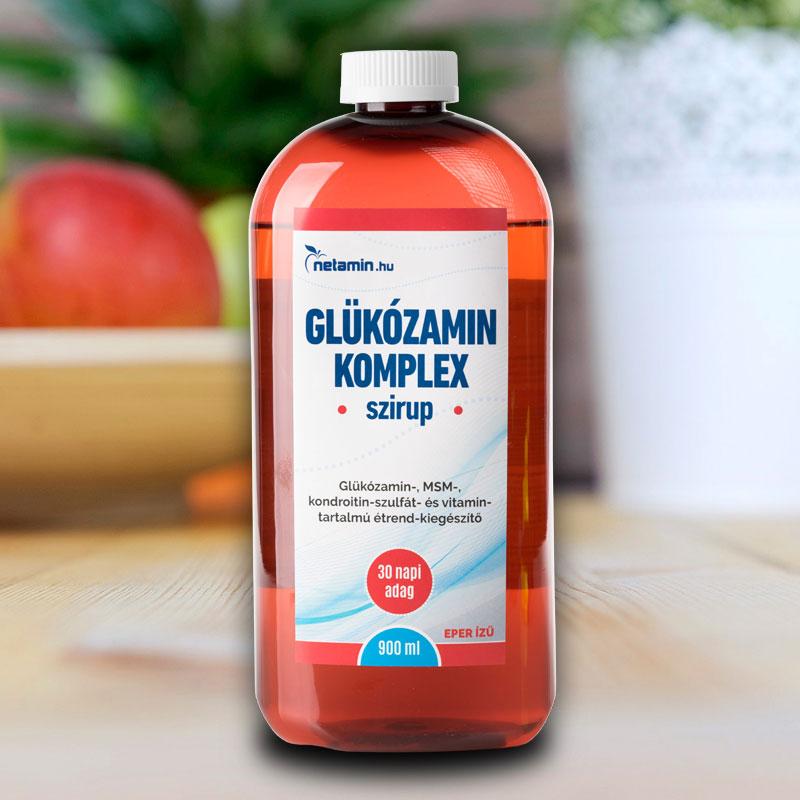 glükozamin kondroitin-tartalmú