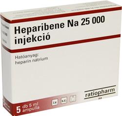 Súlyos mellékhatásokat okozhat a heparin - Trombózisközpont