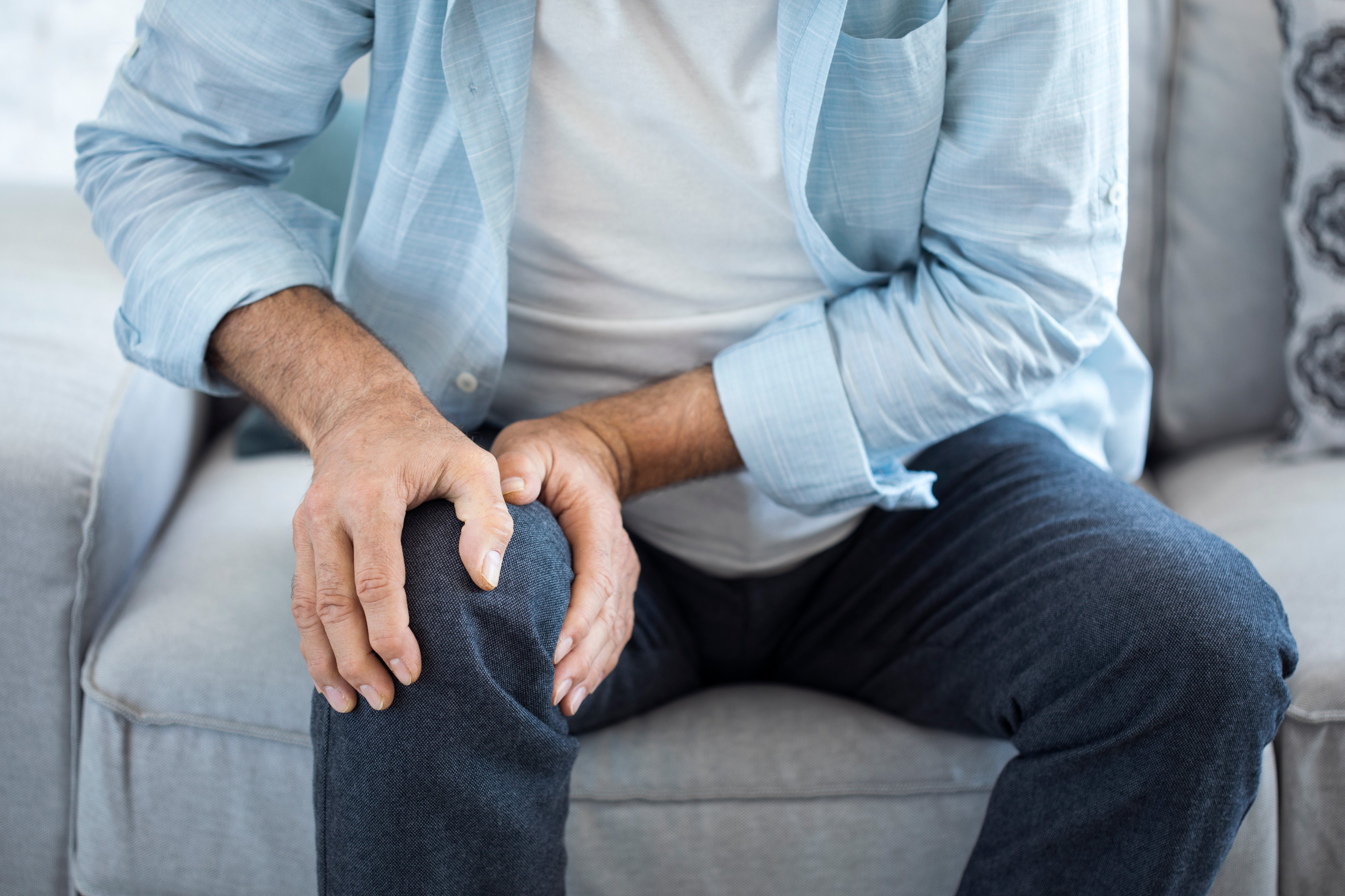 akupresszúra a térd artrózisában