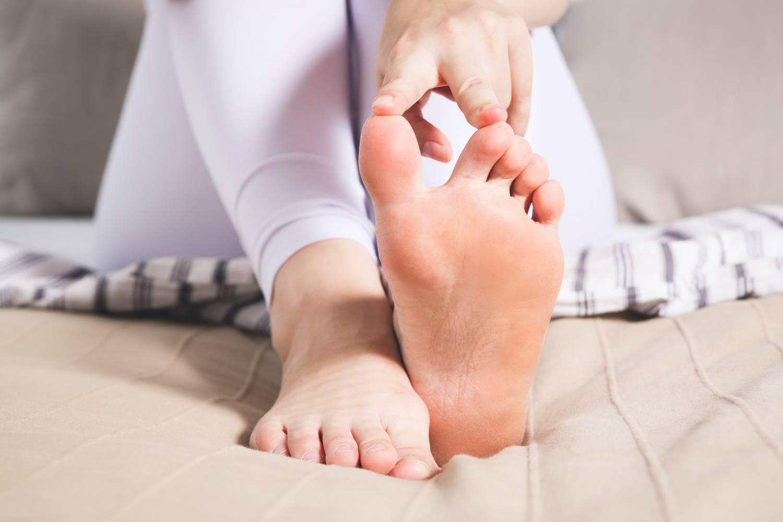 fájó láb az ízület alján