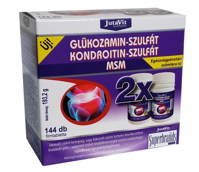 miből készül a kondroitin és a glükozamin
