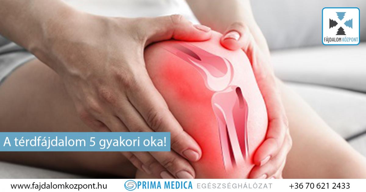 a térdízület bursitis nem fáj