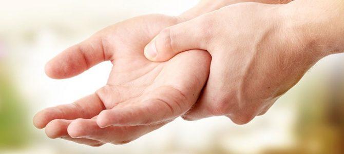 a jobb kéz hüvelykujjának ízületi fájdalma