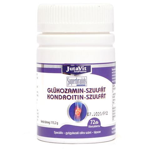 glükózamin-kondroitin alkalmazásával)