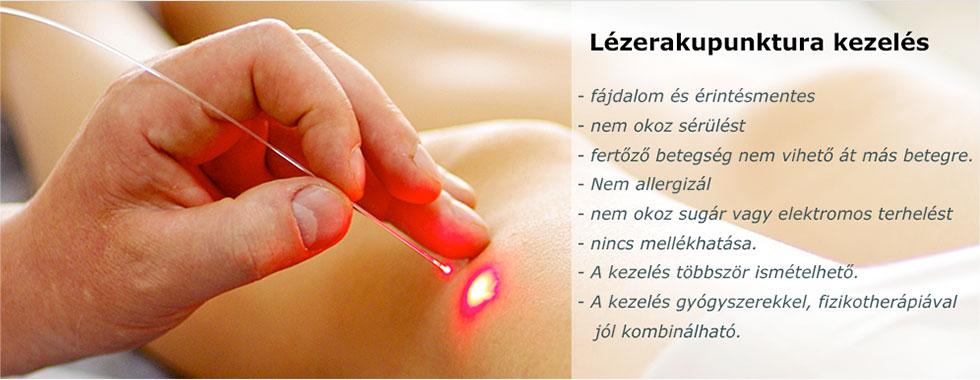 lézeres terápiás ízületi kezelés)