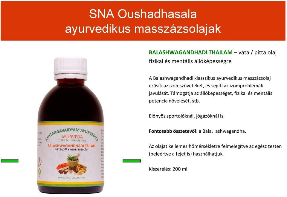 Ájurvédikus Készítmények a Kutir ajánlásával…