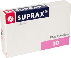 suprax ízületi fájdalom)