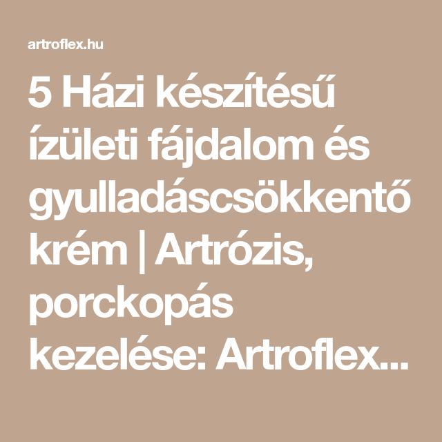 artrózisos magvak kezelésére)