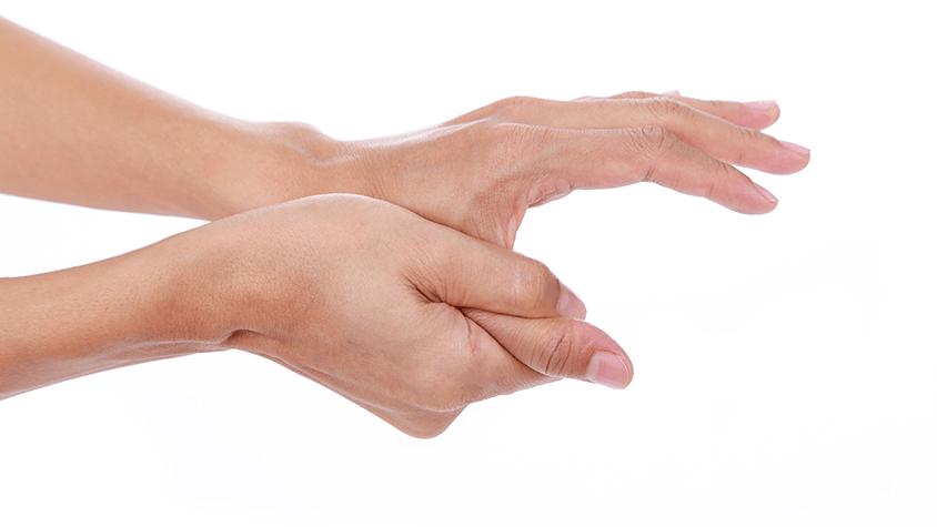 az ujj ízületének zsákja
