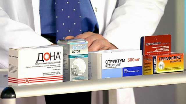 Tabletták az ízületek és a gerinc számára - Myositis -