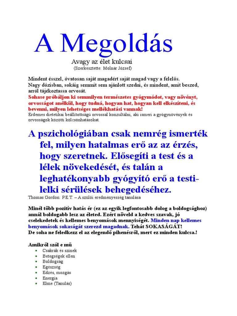 féreg gyógyítja az artrózist)