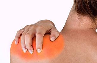 fájdalom a vállízületben és a nyakon)