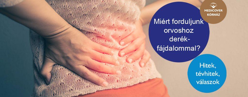 Nem derékfájás, ízületi gyulladás - Napidoktor