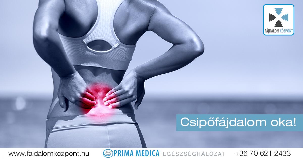 akut fájdalom a csípő területén