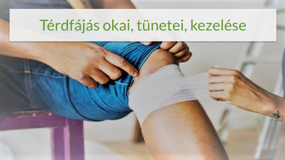 fáj térd alatt 1. fokozatú térdbetegség