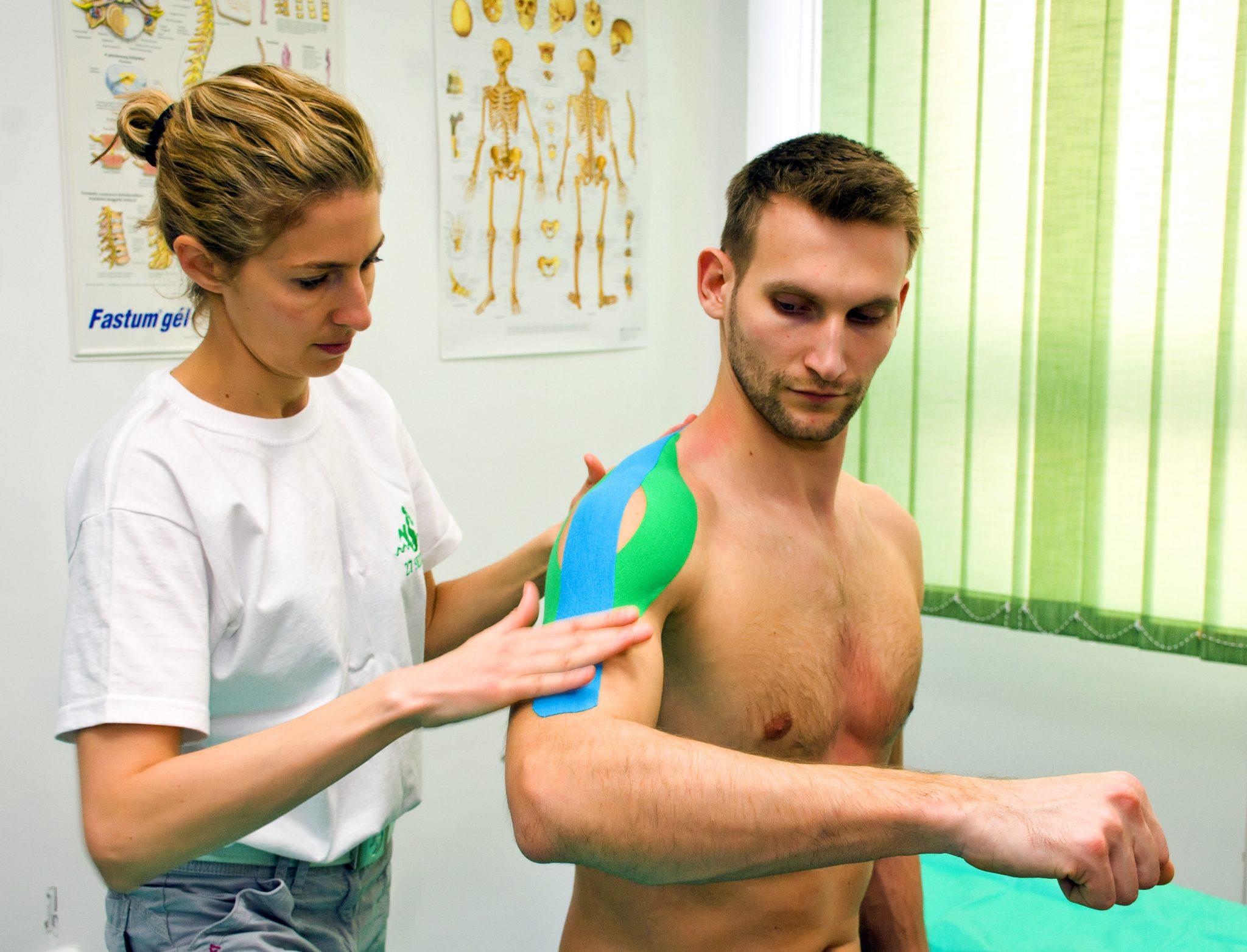kinesio szalag ízületi fájdalmak kezelésére