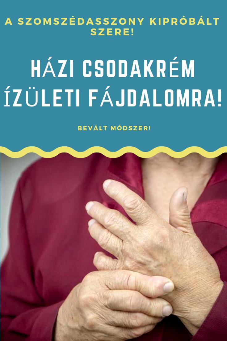 az ujjaival kapcsolatos ízületi gyulladásról