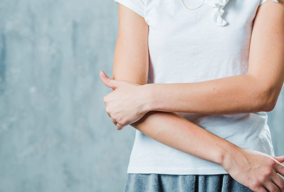 a könyökízület ízületi gyulladásának komplex kezelése)