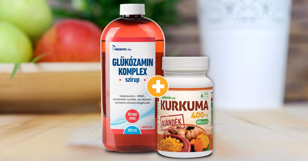 nátrium-glükozamin-kondroitin 60 kapszula)
