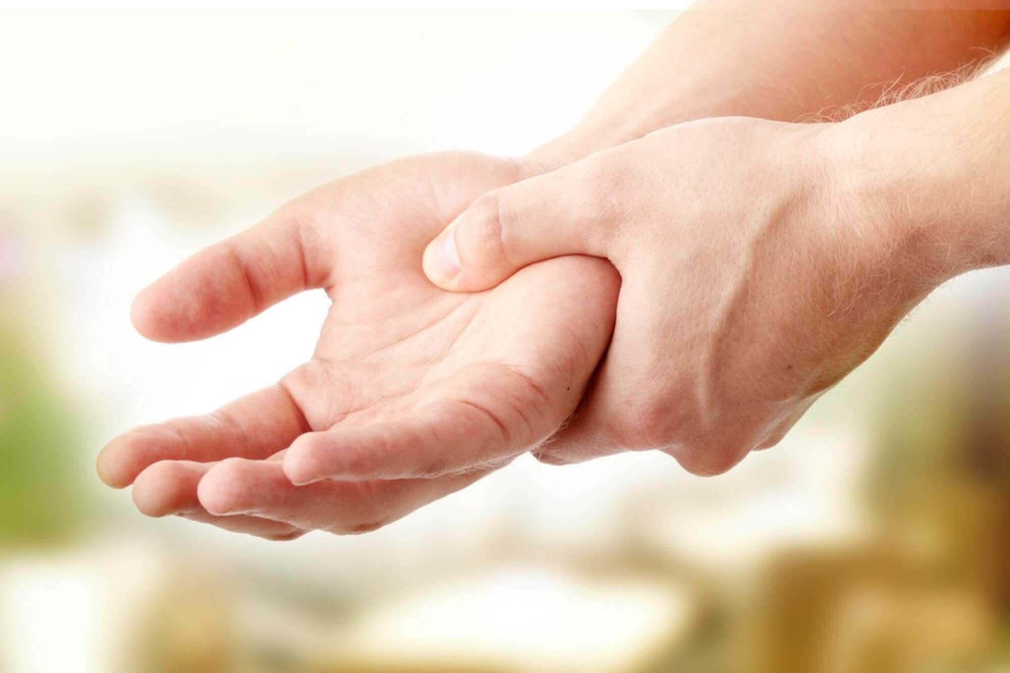 az ujjak ízületeinek éjszakai fájdalmai